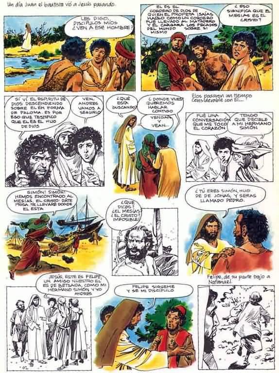 Los primeros discípulos