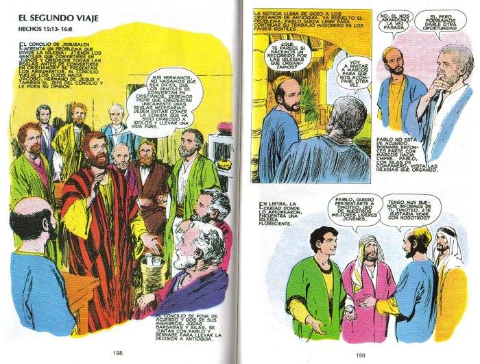 """""""Nuevo Testamento Ilustrado"""": El segundo viaje"""
