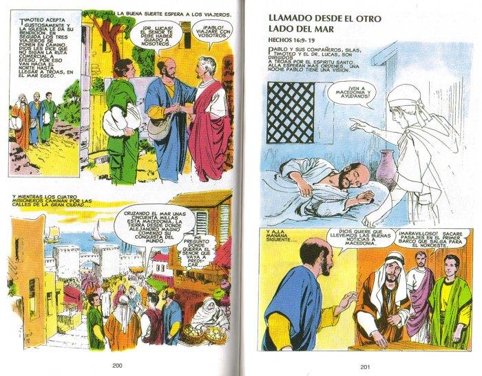 """""""Nuevo Testamento Ilustrado"""": Llamado desde el otro lado del mar"""
