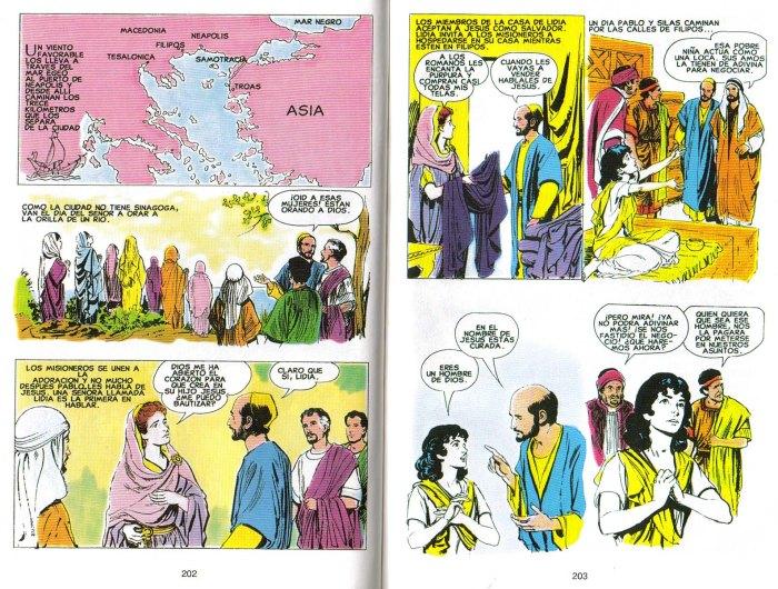 """""""Nuevo Testamento Ilustrado"""": Lidia"""