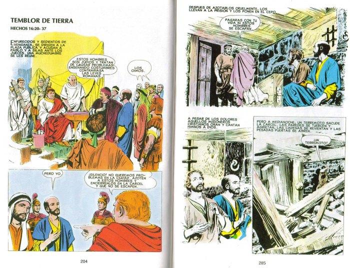 """""""Nuevo Testamento Ilustrado"""": Temblor de tierra"""