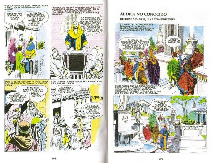 """""""Nuevo Testamento Ilustrado"""": Al Dios no conocido"""