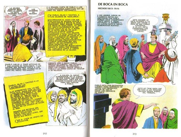 """""""Nuevo Testamento Ilustrado"""": De boca en boca"""