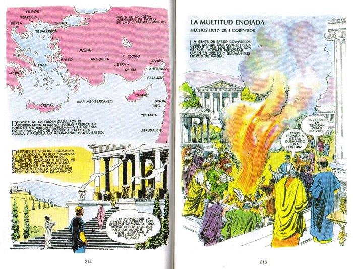 """""""Nuevo Testamento Ilustrado"""": La multitud enojada"""
