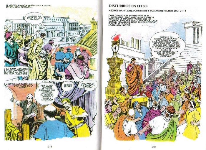 """Nuevo Testamento Ilustrado"": Disturbios en Éfeso"