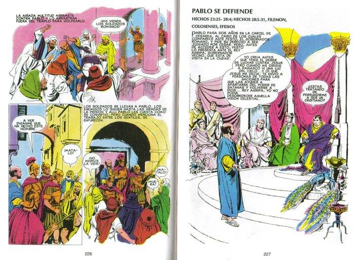 """Nuevo Testamento Ilustrado"": Pablo se defiende"