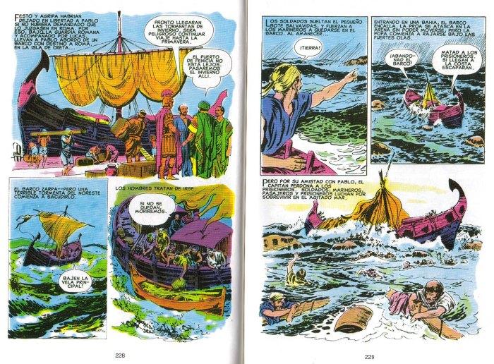 """""""Nuevo Testamento Ilustrado"""": ¡Naufragio!"""