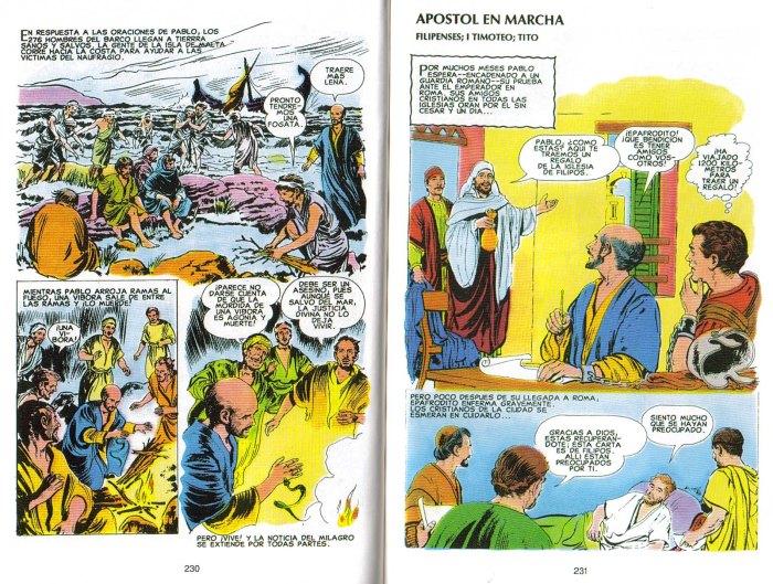 """""""Nuevo Testamento Ilustrado"""": Apóstol en marcha"""