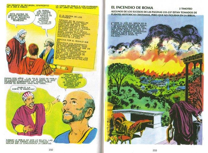 """""""Nuevo Testamento Ilustrado"""": El incendio de Roma"""
