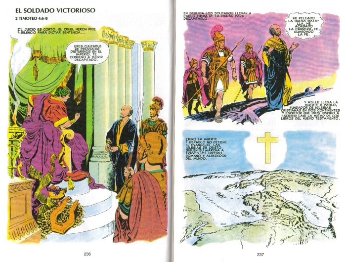 """""""Nuevo Testamento Ilustrado"""": El soldado victorioso"""