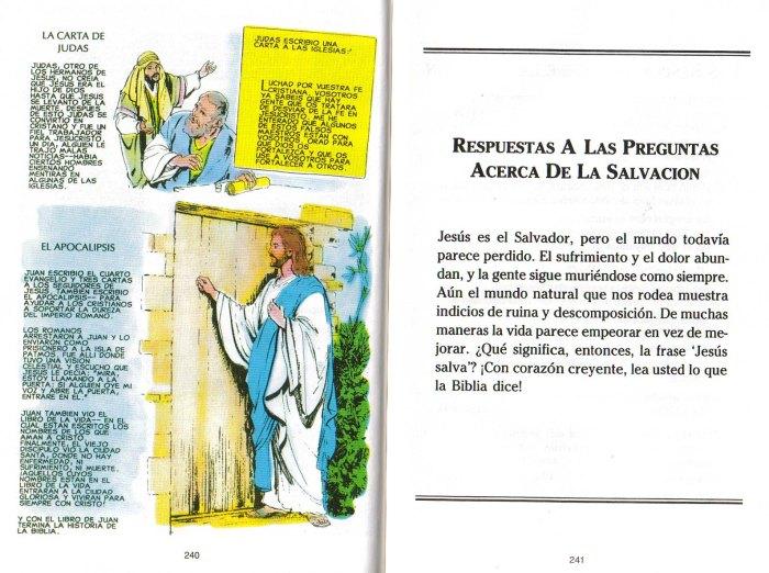 """""""Nuevo Testamento Ilustrado"""": Jesús está tocando a tu puerta"""