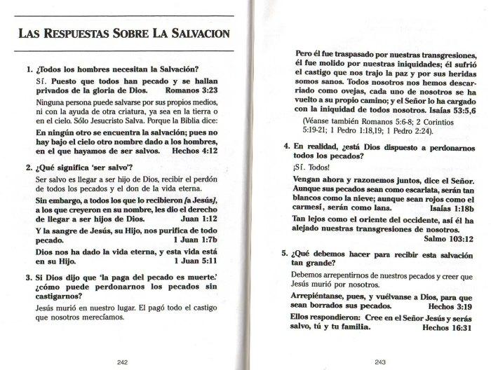 """""""Nuevo Testamento Ilustrado"""": Las Respuestas sobre la salvación (1/5)"""