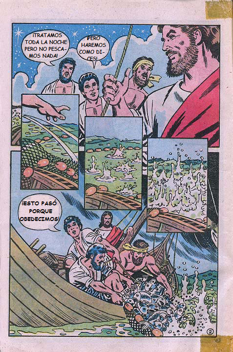 """""""Jesús"""": La pesca milagrosa"""