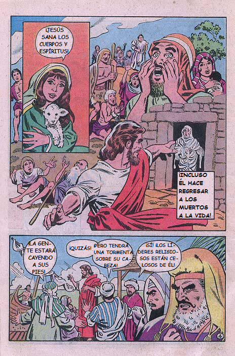 """""""Jesús"""": Milagros"""