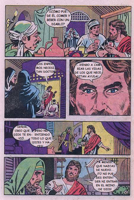 """""""Jesús"""": Mateo y Nicodemo"""