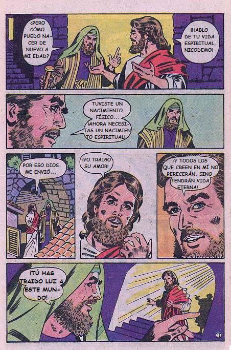 """""""Jesús"""": Debes nacer de nuevo"""