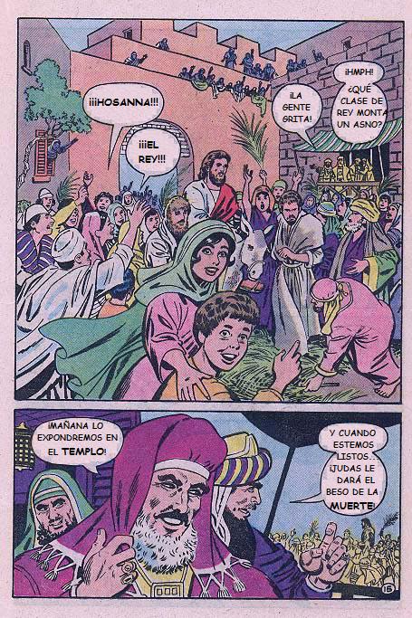"""""""Jesús"""": ¡Hosanna!"""