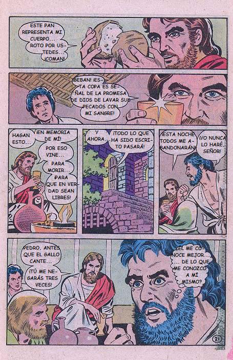 """""""Jesús"""": El Cuerpo y la Sangre"""