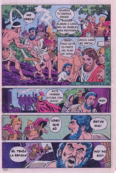 """""""Jesús"""": Negación de Pedro"""