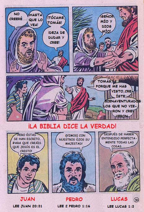 """""""Jesús"""": ¡La Biblia dice la verdad!"""